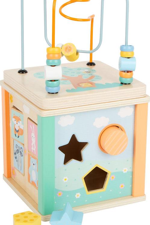 cube de motricité, jouet pour bébé, jouet en bois, jouets en bois, jouets de léa