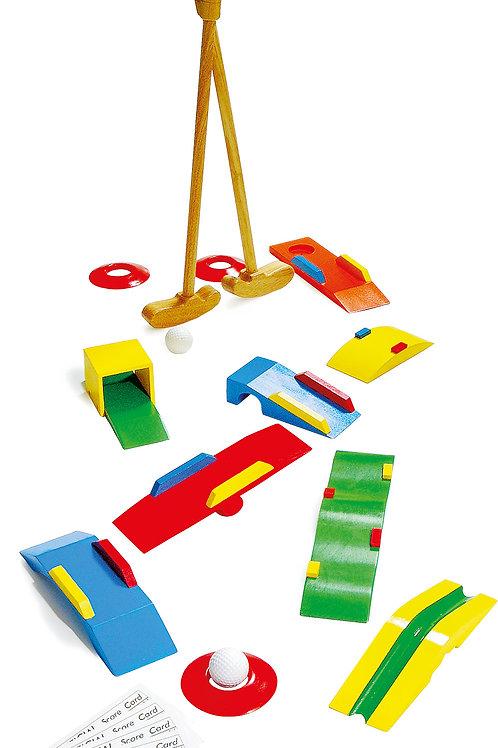 mini golf, jouet en bois, jouets en bois, jouets de léa, jouet montessori, jouets montessori