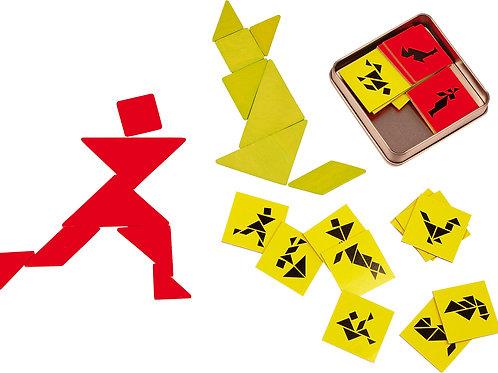 tangram, jouets en bois, jouets de léa