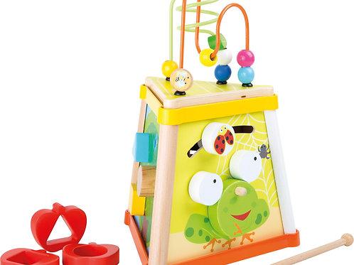 jouet montessori, triangle de motricité, jouet en bois, jouets en bois, jouets de léa