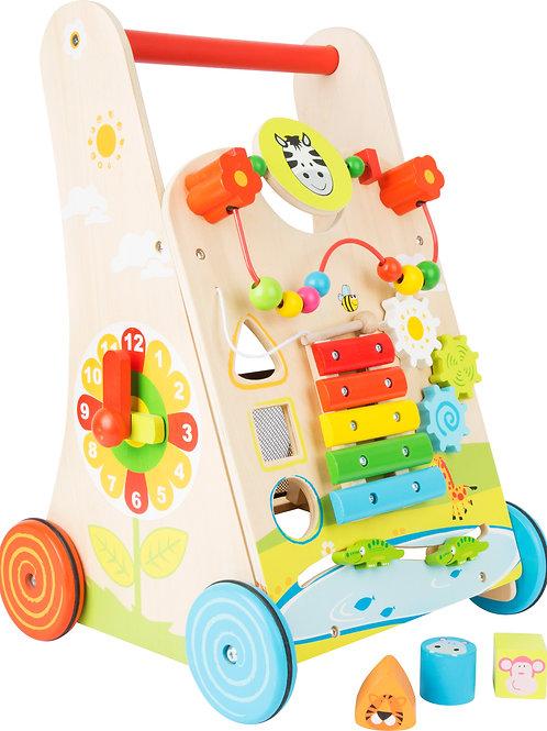 chariot de marche, jouet en bois, jouets en bois, jouets de léa