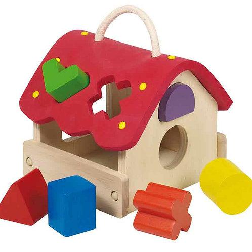 jouet à encastrer, goki, jouets en bois, jouet en bois, jouets de léa