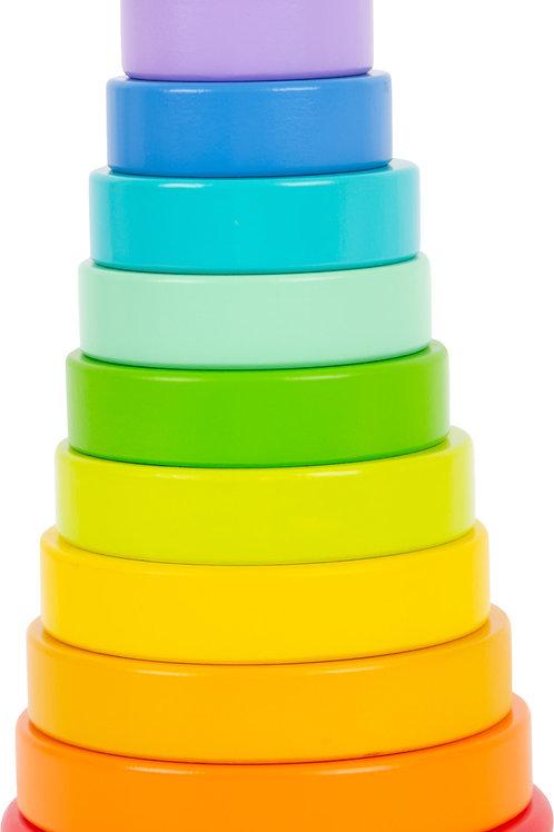 tour à empiler, jouet bébé, jouet en bois, jouets en bois, jouets de léa