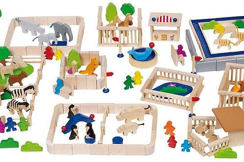 mon petit zoo, goki, jouets en bois, jouet en bois, jouets de léa