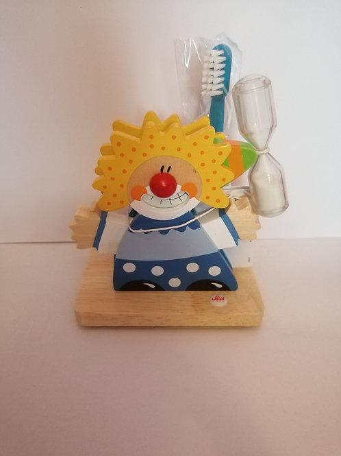 porte brosse à dents, SEVI, jouets en bois, jouets de léa
