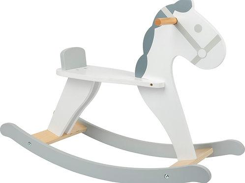 cheval à bascule en bois, small foot, jouet en bois, jouets en bois, jouets de léa