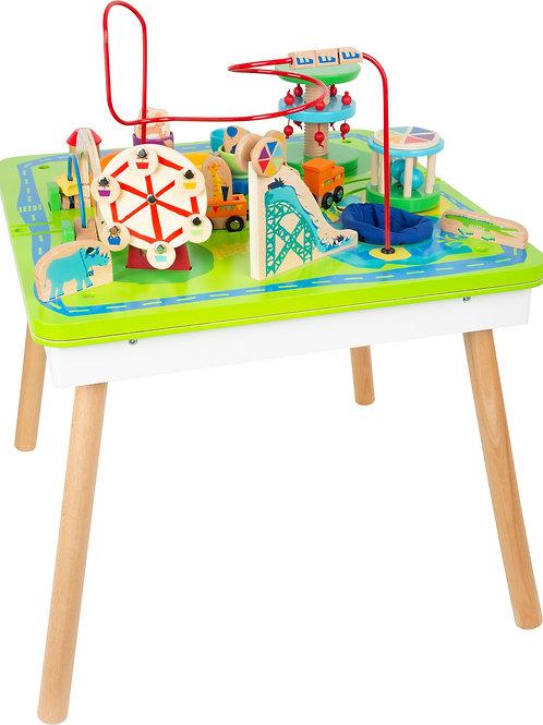 table de jeu, jouet montessori, jouet en bois, jouets en bois, jouets de léa