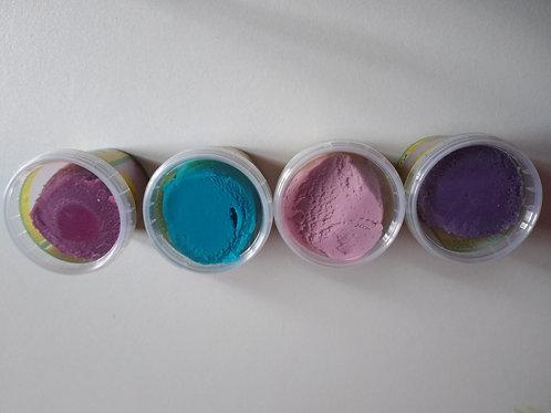Pâtes à modeler 4 couleurs « Licorne »