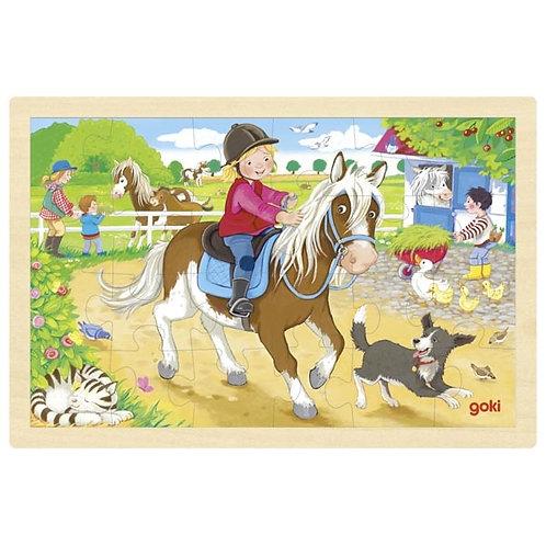 puzzles bois, jouet en bois, jouets en bois, jouets de léa, goki