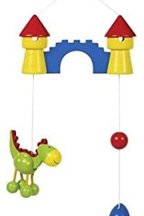 mobile en bois, jouets en bois, jouet en bois, jouets de léa