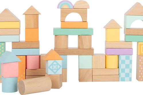 bloc de construction en bois, jouets en bois, jouets de léa, jouet en bois, jouets montessori, jouet montessori