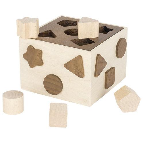 boîte à formes, jouets montessori, jouet en bois, jouets en bois, jouets de léa, goki