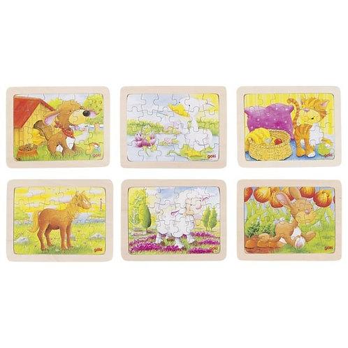 jouet montessori, puzzles bois, jouet en bois, jouets en bois, jouets de léa, goki