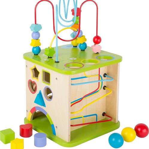 Cube de motricité avec circuit à boules Small foot