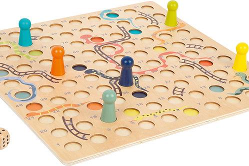 jeu de l'échelle, jeu xxl, jouet en bois, jouets en bois, jouets de léa, jeu de société, jouet montessori, jouets montessori