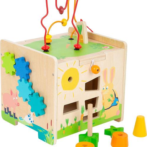 Cube de motricité Lapin.