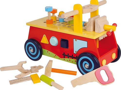 porteur en bois, jouet montessori, jouet en bois, jouets en bois, jouets de léa, small foot