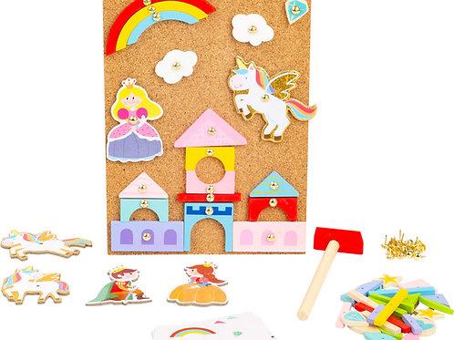 jeu de clous, jouet en bois, jouets en bois, jouets de léa