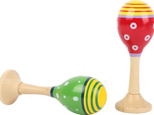 maracas en bois, jouet en bois, jouets en bois, jouets de léa, jouet montessori, jouets montessori