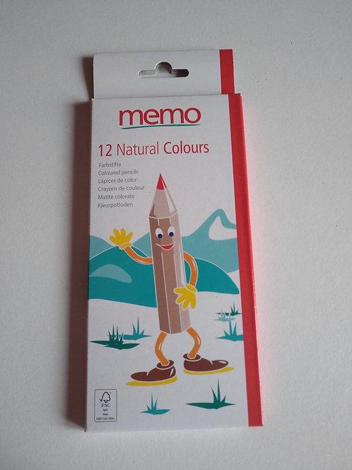 Crayons de couleurs (boîte de 12)