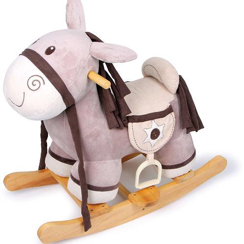 cheval à bascule, shérif à bascule, jouet en bois, jouets en bois, jouets de léa, jouet montessori, jouets montessori