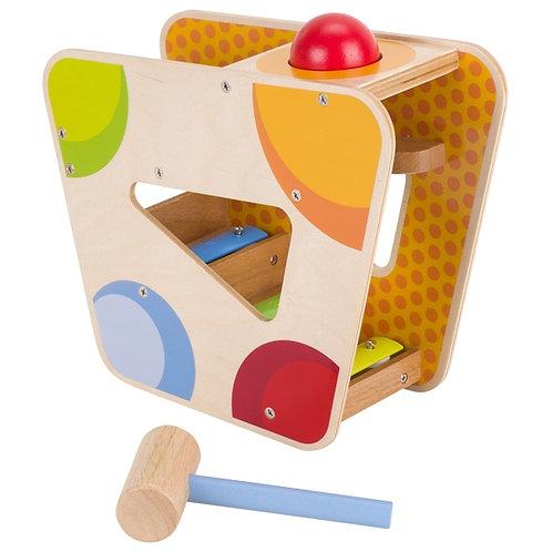 jouet à marteler, jouets montessori, jouet en bois, jouets en bois, jouets de léa