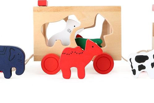 jouets à encastrer, train en bois, jouets montessori, jouet en bois, jouets en bois, jouets de léa, jouet montessori
