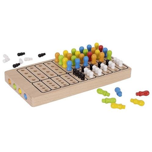masterlogic, mastermind bois, jouet en bois, jouets en bois, goki, jouets de léa