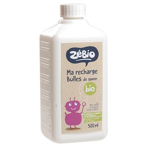 Recharge bulles de savon Zébio