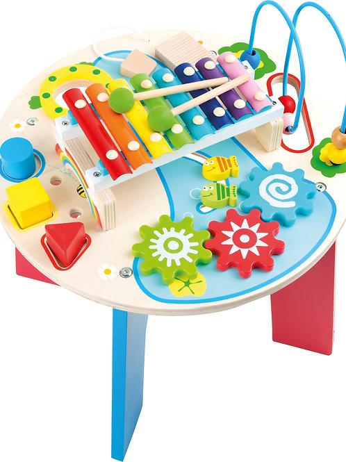 jouet montessori, table de motricité, jouet en bois, jouets en bois, jouets de léa