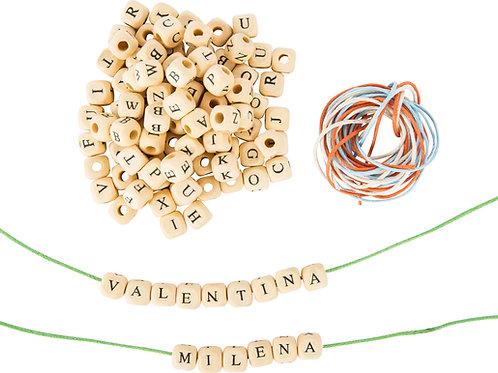 perles alphabet, jouet en bois, jouets en bois, jouets de léa, jouet montessori, jouets montessori