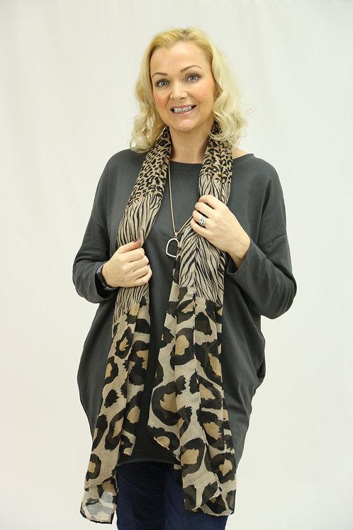Leopard Cotton style Scarf