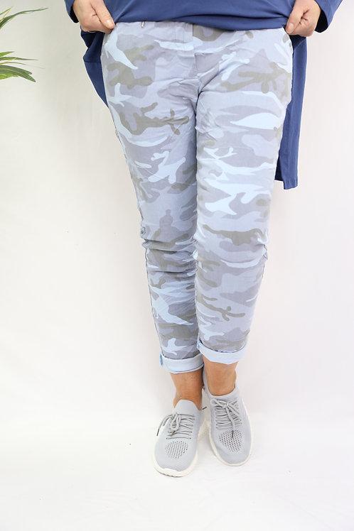 Sky Blue Camo Magic Pants