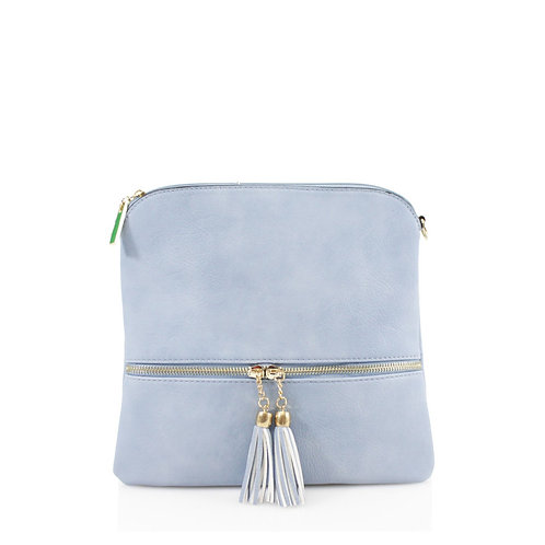 Crossbody Tassel Zip Bag K3031