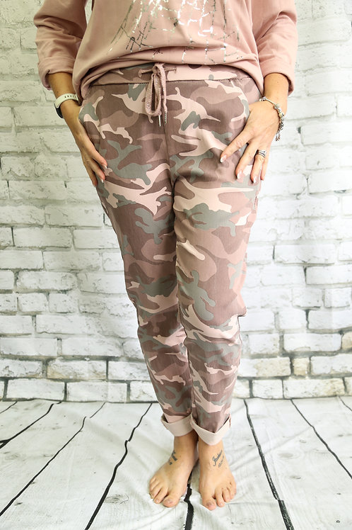 Raspberry Camo Magic Trousers