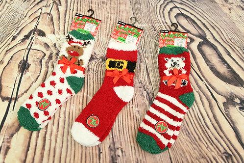 Christmas Bed/Slipper Socks
