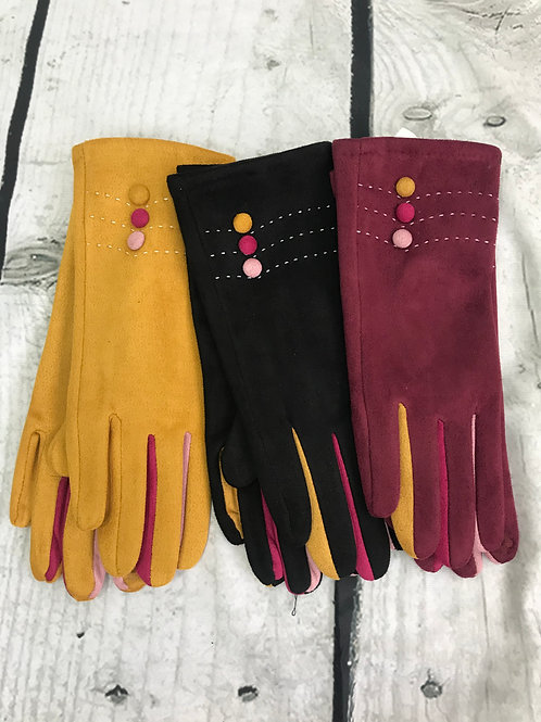 Three Button Glove
