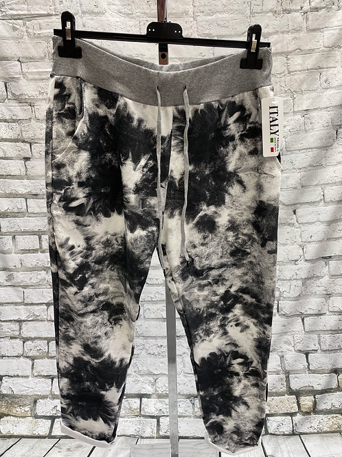 New black tie dye jogger