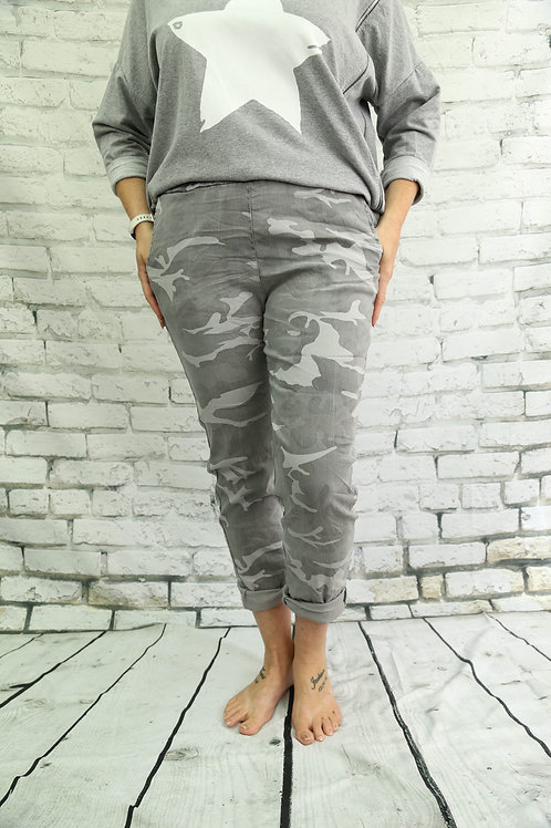 Grey Camo Magic Trousers