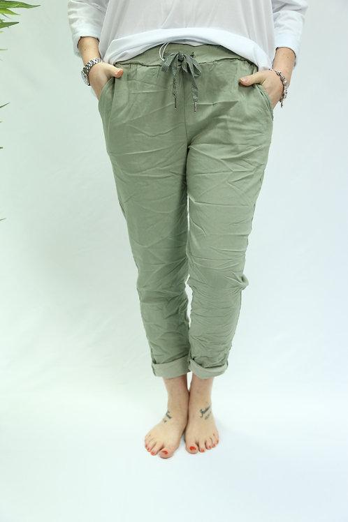 Light Khaki Magic Pants