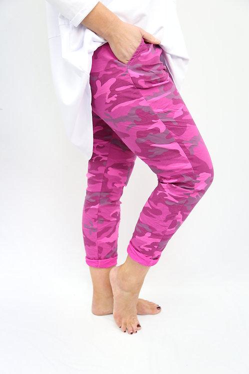 Hot Pink Camo Magic Pants