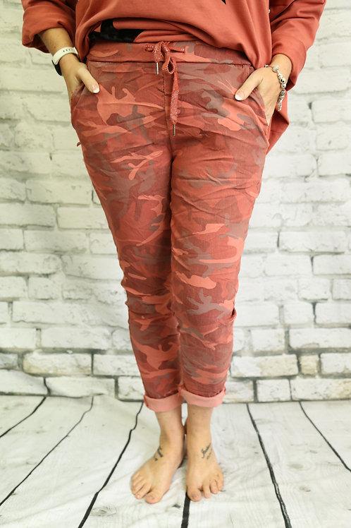 Rust Camo Magic Trousers