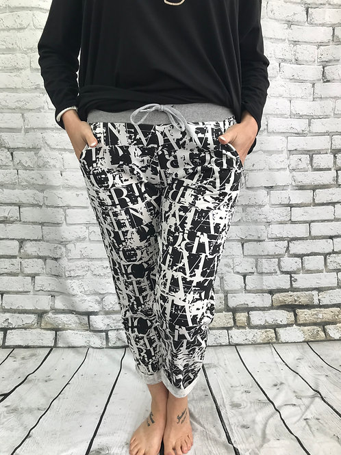 Letters Joggers