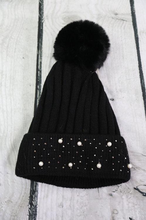Pearl Detail Hat