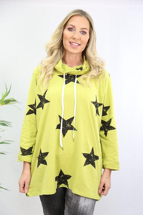 Simone Star Drawstring Top