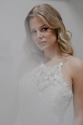 GAIA Bridal with Victoria Percival Earrings