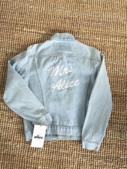 Customisable Vintage Denim Jacket