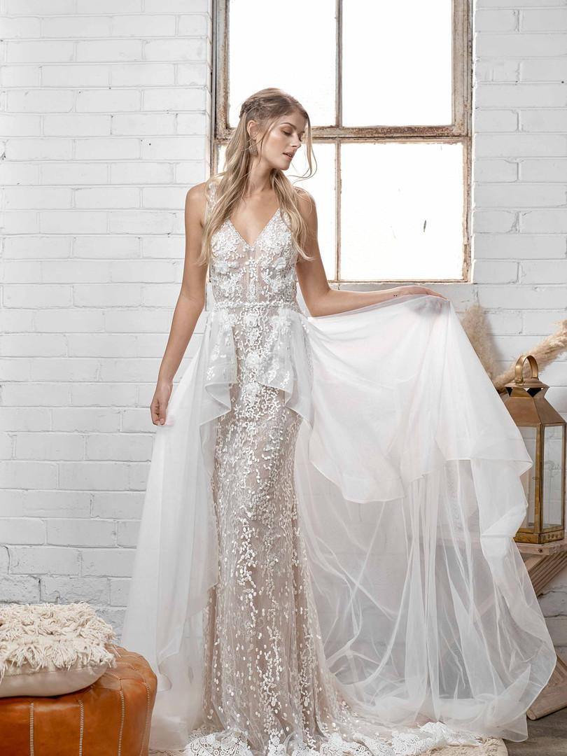 White April Floating Dreams Wedding Dress