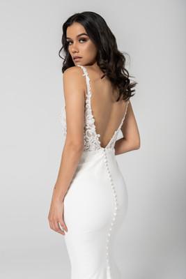 Backless Wedding Dress by Cizzy Bridal Australia