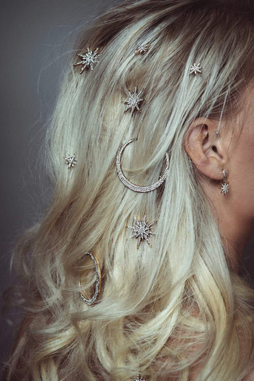 Andromeda Hair Pins from Flourish by Victoria Percival